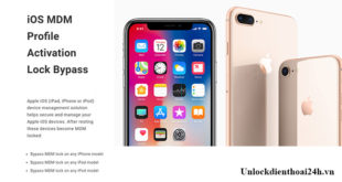 Mở khóa MDM lock iPhone X 8 8 Plus
